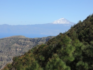 El Teide on Tenerife, from La Gomera