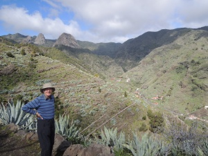 Walking on La Gomera, Canary Islands